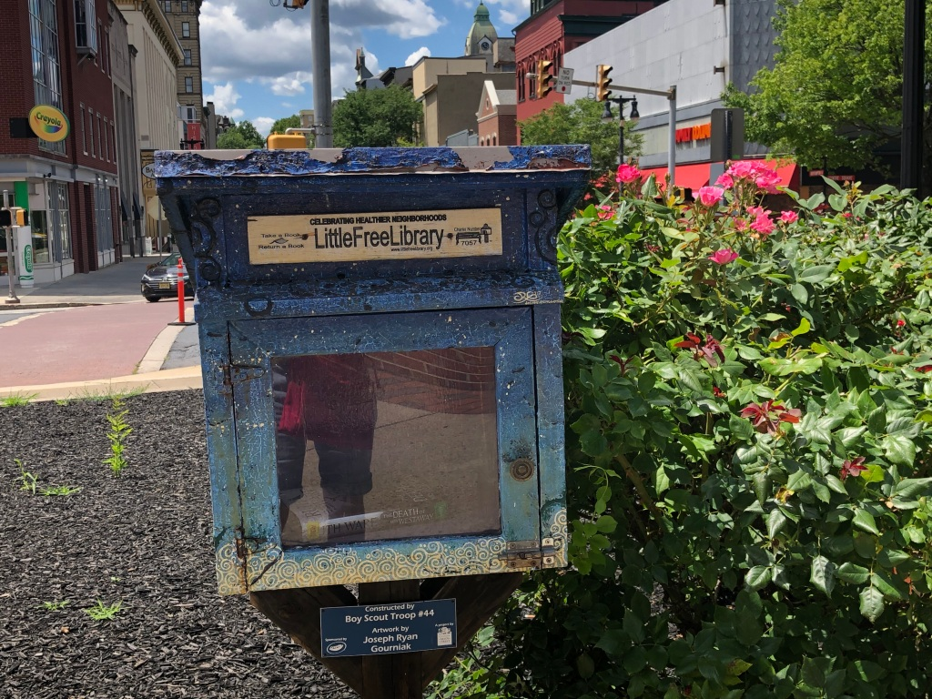 The Little Free Library in Centre Square Easton, Pennsylvania