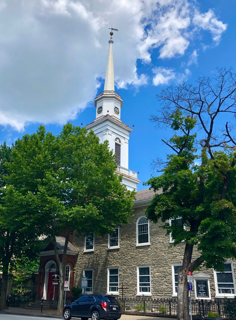 Easton, Pennsylvania - the old church